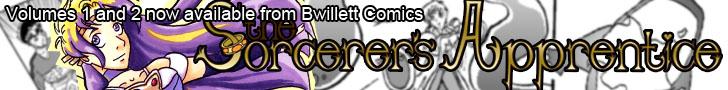 Buy Sorcerer's Apprentice volume 1 and 2 today